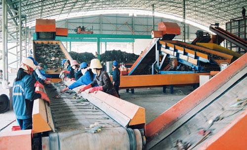 nhà máy xử lý rác