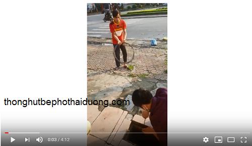 video thông tắc cống