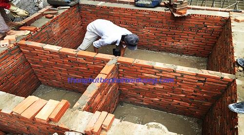 xây bể tự hoại