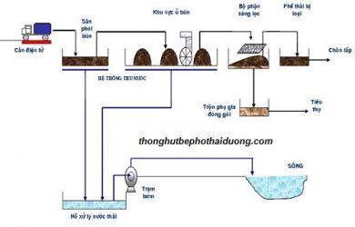 xử lý chất thải bể phốt