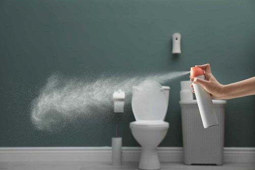 Khử sạch mùi hôi trong nhà vệ sinh