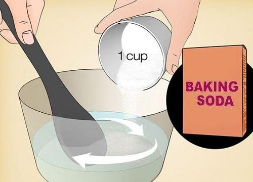 dùng backing soda